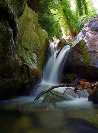 Pilion Wasserfall